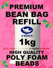 Sunshine High Quality 1kg Bean Bag Refill (poly Foam Beads Balls) Best Filling By United Sunshine.