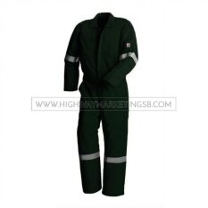 Supersonic SK-FRC(R)-DG-3XL Flame Retardant/Fire Resistant Coverall Size 3XL