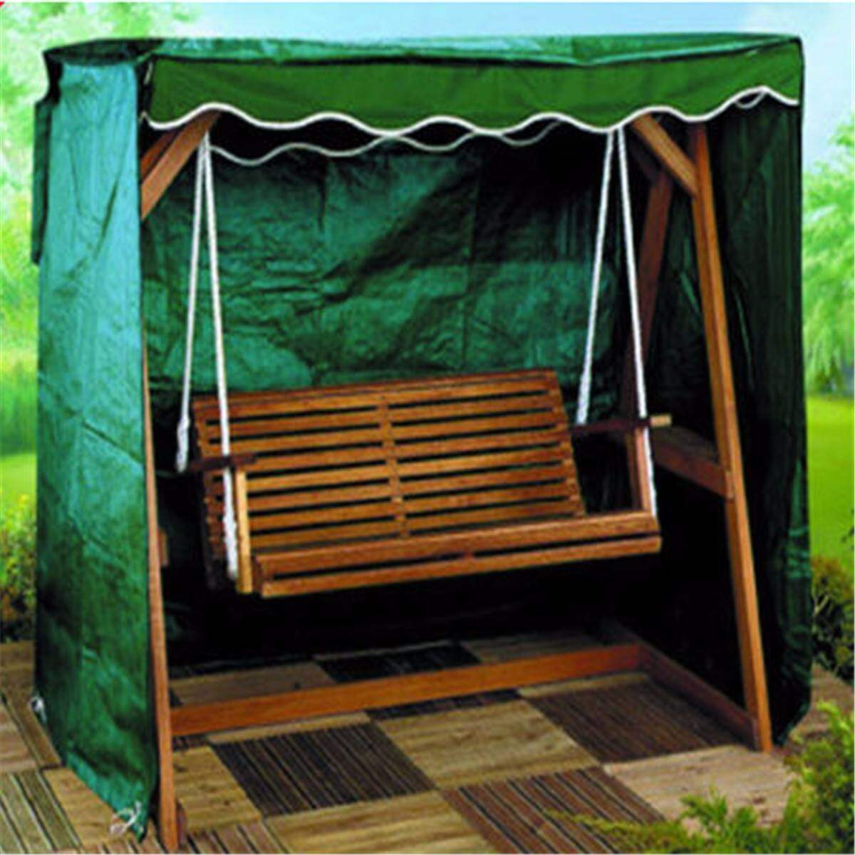 Swing Coverings  200x110x175cm On Both Sides With A Zipper Waterproof Outdoor Garden Furniture