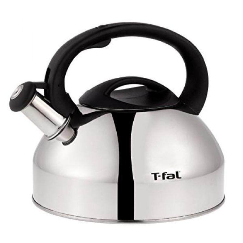 T-fal T-fal Cpecialty Stainless Steel Dishwasher Safe Whistling Coffee and Tea Kettle, 3-Quart, Silver - intl Singapore