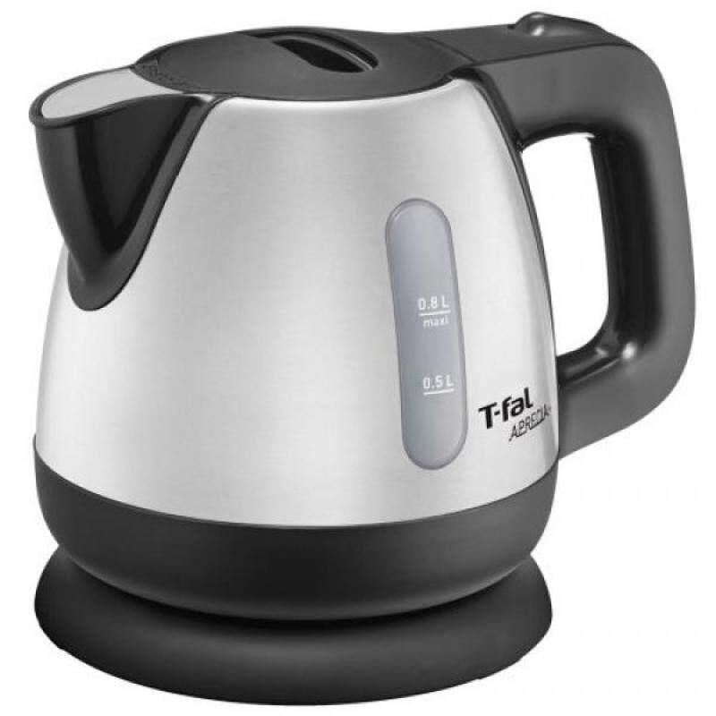 T-fal T-FAL electric kettle Apureshia plus (0.8L) Metallic Noir BI805D70 - intl Singapore