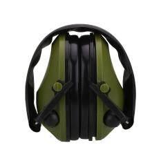 Tactical Anti-Noise Impact Electronic Earmuff Fold Ear Protection Earmuffs 21SNR