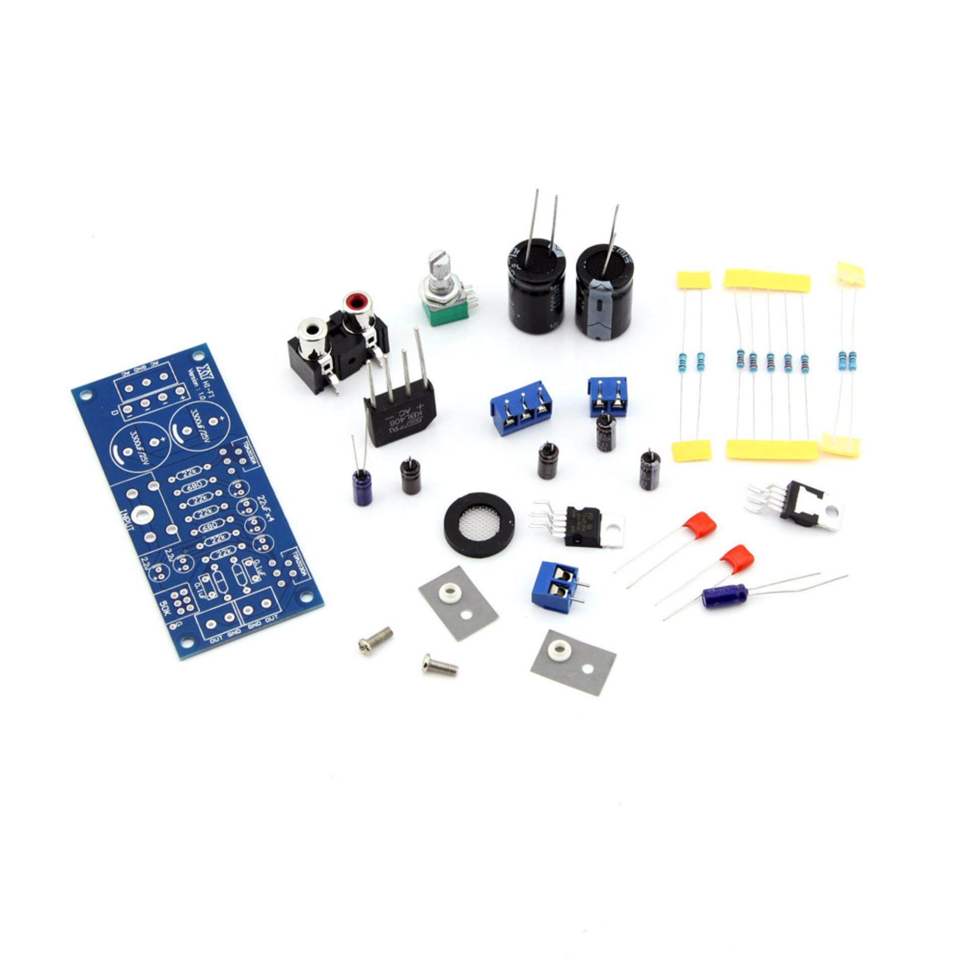 Buy Sell Cheapest Audio Amplify Board Best Quality Product Deals 23w Dual Power Amplifier Circuit Tda2030a 2 Channels Subwoofer Stereo Kit Diy Intl