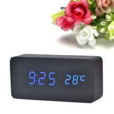 Temperature Sounds Control Led Electronic Desktop Digital Alarm Clock Bu By Erpstore.