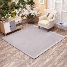 Thick Coral Fleece Tatami Mat Durable Tea Table Mats and Carpets for Bedroom Living Room Rug Baby Crawling Carpet 150X200CM