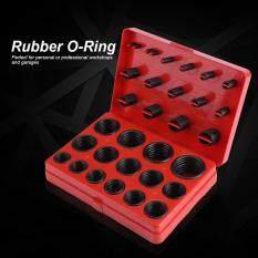 TMISHION 347Pcs Universal Assorted O-Ring Assortment Set Metric Kit Automotive Seal Rubber Gasket