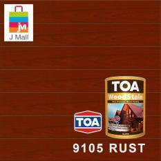 TOA Woodstain Interior & Exterior Wood Paint 9105 Rust