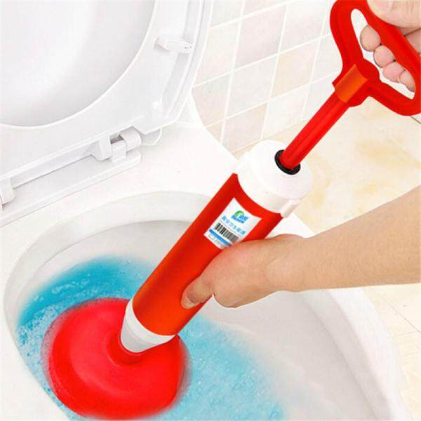 Toilet Plunger, Toilet Dredge Designed for Siphon-Type, Power Cleaned Toilet Pipe, Environmentally friendly, Stainless steel Handle with Wall Hook