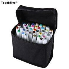 Mua Touch Five Colors Graphic Art Twin Marker Point Tip Pen color:Black size:40