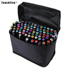 Sale Touch Five Colors Graphic Art Twin Tip Marker Pen Color Black Size 30Pcs Online On Singapore