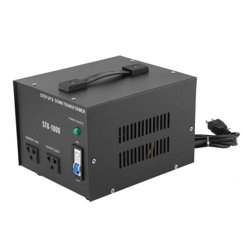 UINN 1000W Step Up&Down Electrical Power 220-110V Voltage Converter Transformer black US Plug