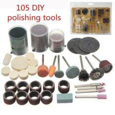 USTORE 105pcs Grinding Tools Bits Set Electric DIY Polishing Engraving Cutting Use