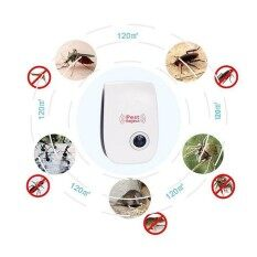 Ultrasonic Pest Repeller, Home Indoor Pest Control Extra Effective Plug In Electronic Mosquito Repellent with Night Light for Rodents Insects Mice Bugs Roaches Flies Spiders Lizards