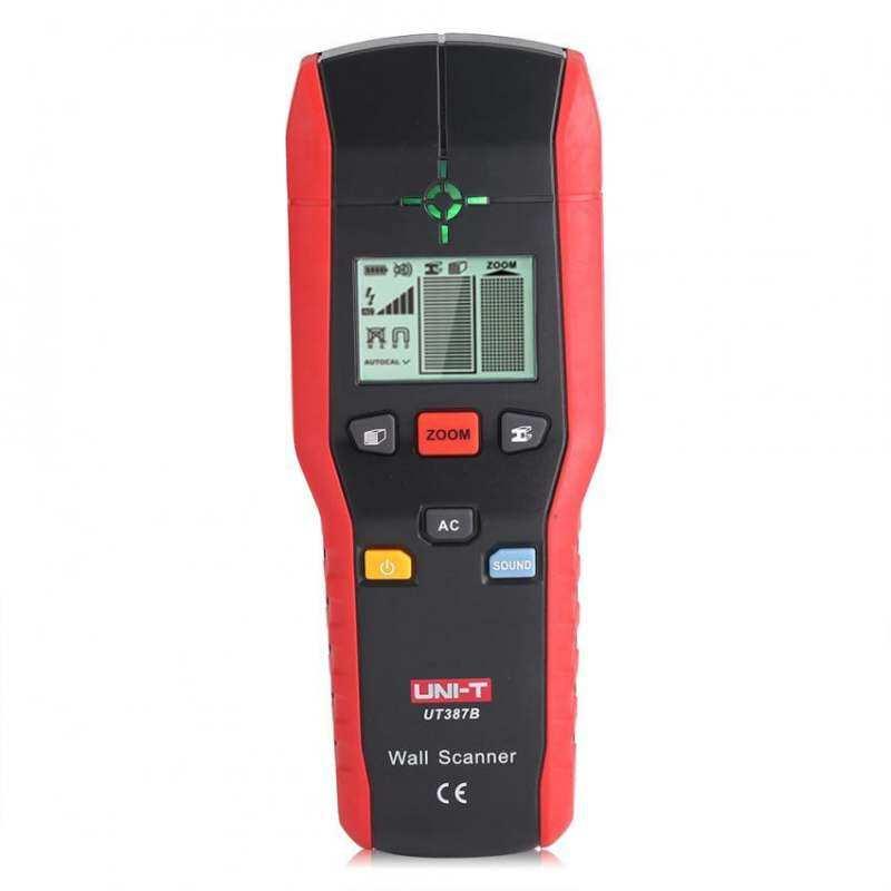 UNI-T Profesional Handheld Dinding Detector Penemu Pemindai Kayu Logam .