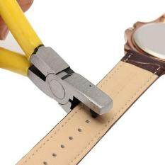 Universal Hand Leather Strap Watch Band Belt Tool Hole Punch Pliers Tools 2mm