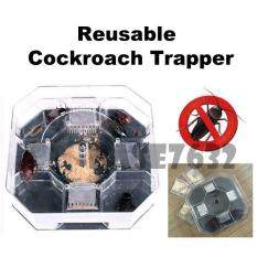 Upgraded Reusable Cockroach Trapper Trap Catcher Repeller Killer Bait 2008.1