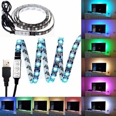 Usb Led Strip Light Rgb 5050 1meter Mini 3 Keys Ip65 Tv Background Lighting By Buildtech.