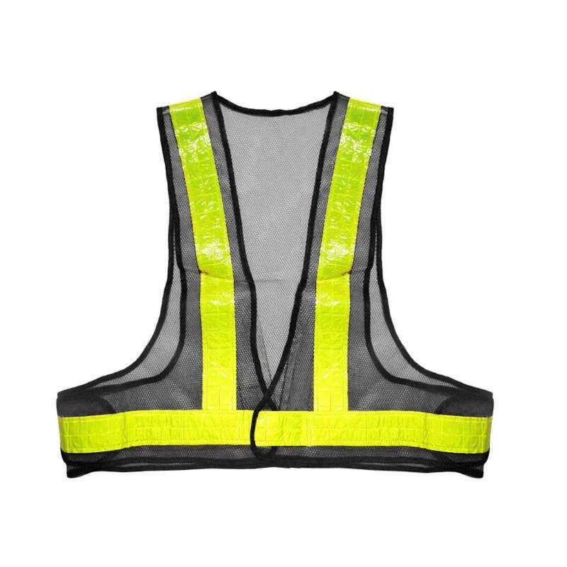 Getek Vanker Baru Rompi Reflektif Keselamatan Visibilitas Keamanan Garis Rompi Persneling Pelindung Kuning + Abu-