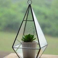 Various Shape Glass Greenhouse Terrarium Pot Garden Cafe Bar House Decor