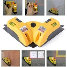 Jettingbuy Vertical Horizontal Laser Line jection Square Level Right Angle 90 degree Yellow