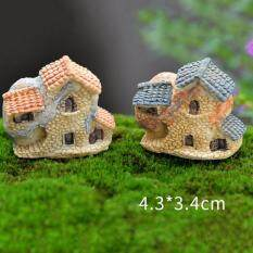 Fashion Vintage Houses Miniature Fairy Garden Home Houses Decoration Mini Craft Micro Landscaping Decor Diy Accessories Type3