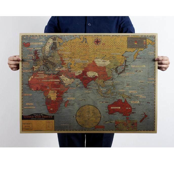 Manfaat Dan Murahnya Leegoal Peta Dunia Terbaru Peta Pendidikan Source · Vintage Retro Cetak Peta Kraft Kertas Antik Poster Dinding Dekorasi Intl