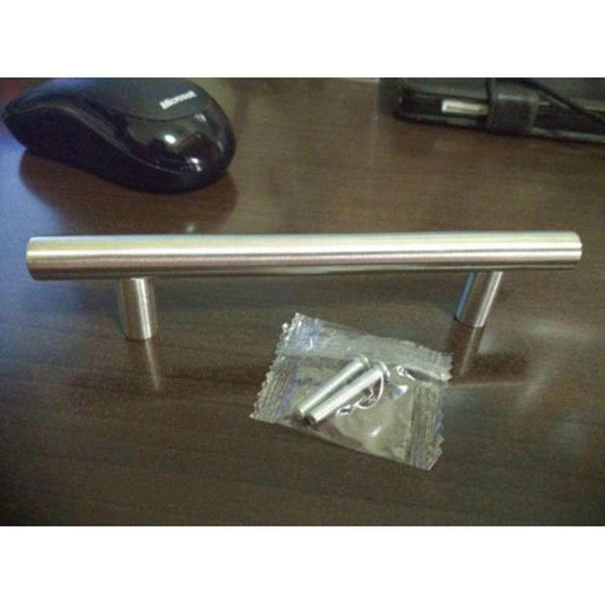 vishine mall-Stainless Steel Kitchen Cabinet Door T Bar Knob Furniture Drawer Handle Tool