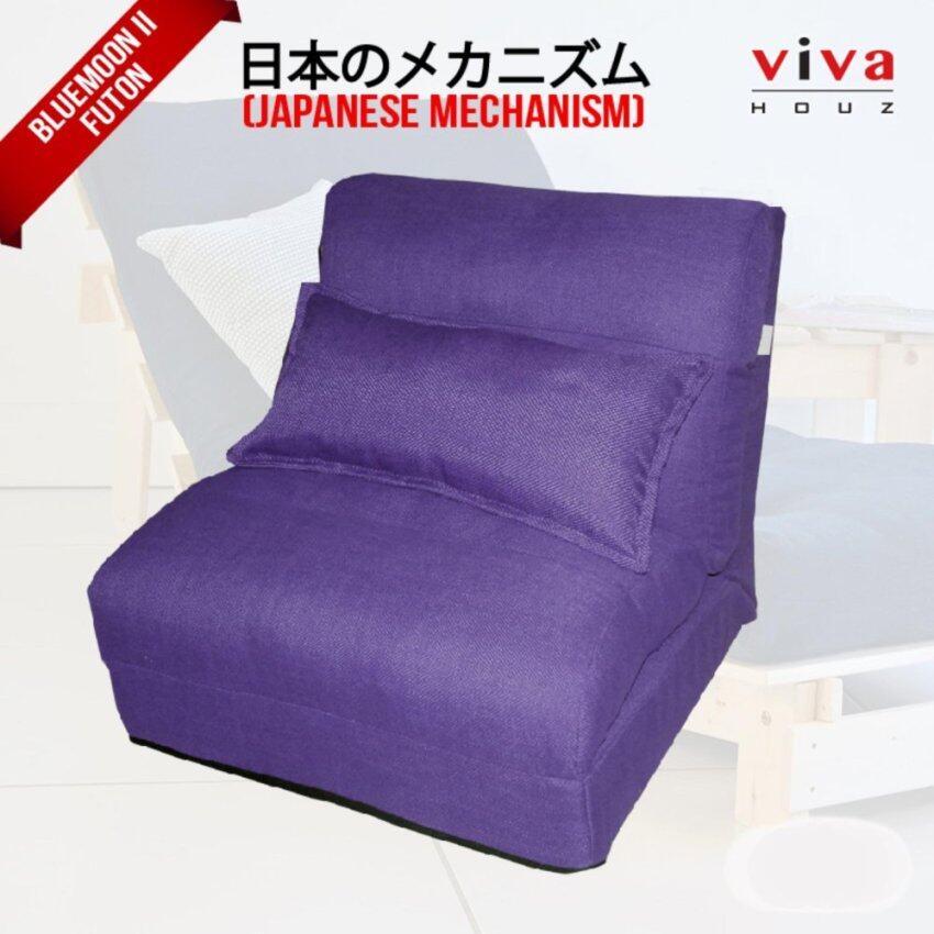 Viva Houz Bluemoon II  Futon/ Sofa / Chair  Made In Malaysia (Purple)