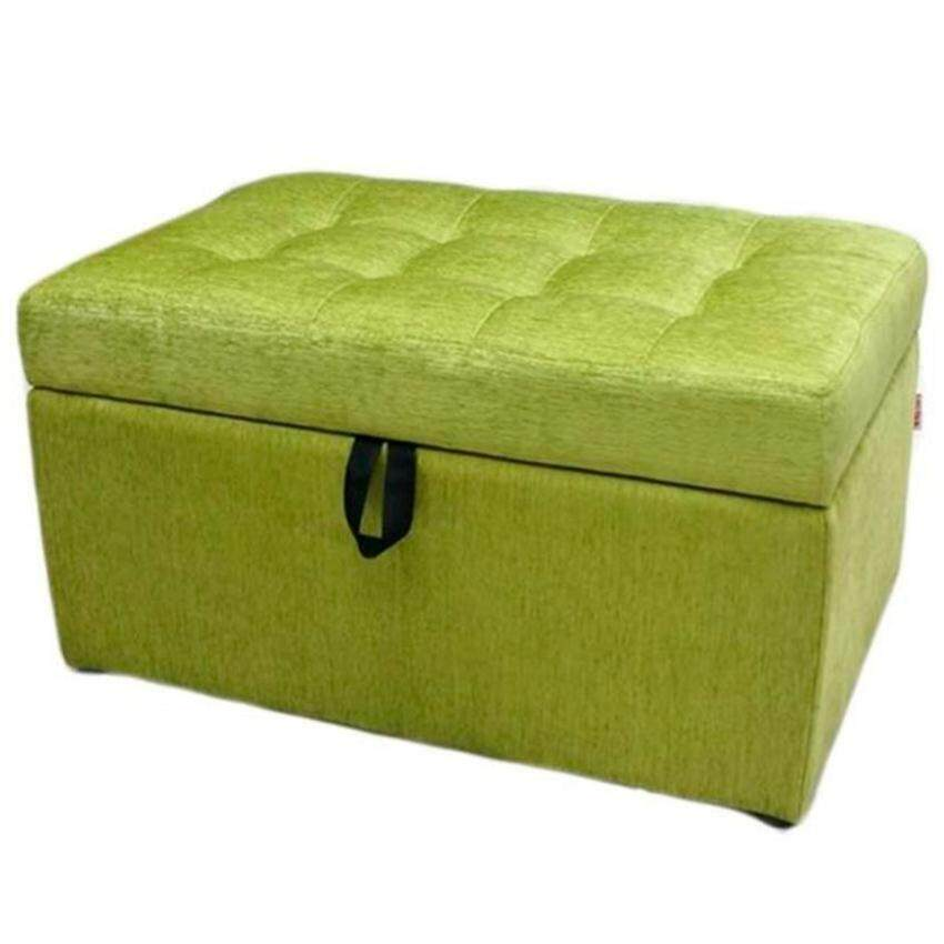 VIVA HOUZ - EVO Storage Ottoman / Bench / Sofa (Apple Green)