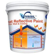 VIVASIL HEAT REFLECTIVE (EXTERIOR) WHITE 18L