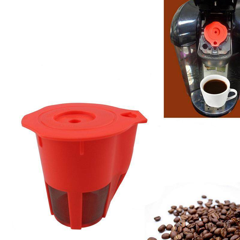 Voovrof Kopi Filter Reusable Keurig 2.0 K Cup Filter Penggantian K Carafe Filter Cups, Orange