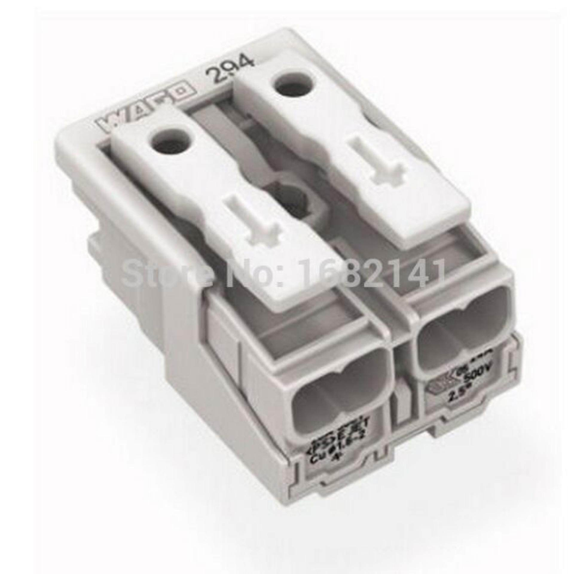 50pcs Double Push Wire Lighting Connector Cage Clamp Wago 224 101 Konektor Kabel Wiring Conductor Terminal 221 413 Lever Nuts 3 Compact Connectors 10 Pk Intlthb207