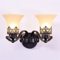 Wall Lighting Bedroom Bedside Wall Sconce Lamp Stair Retro Style Luxury Wall Lamps