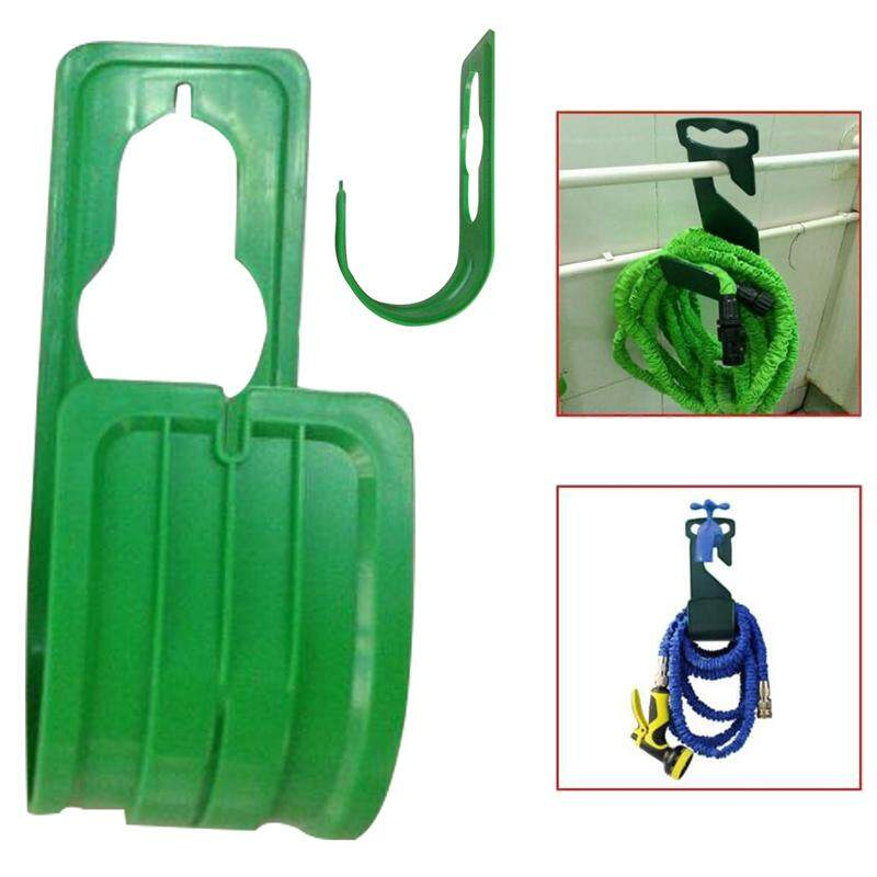 Wall Mounted Expanding Flexible Hose Pipe Holder Garden Hosepipe Hanger Supply