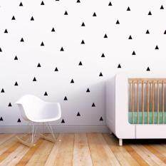 Wall Sticker Dot Triangle Removable Decals Living Room Decoration Kids Room