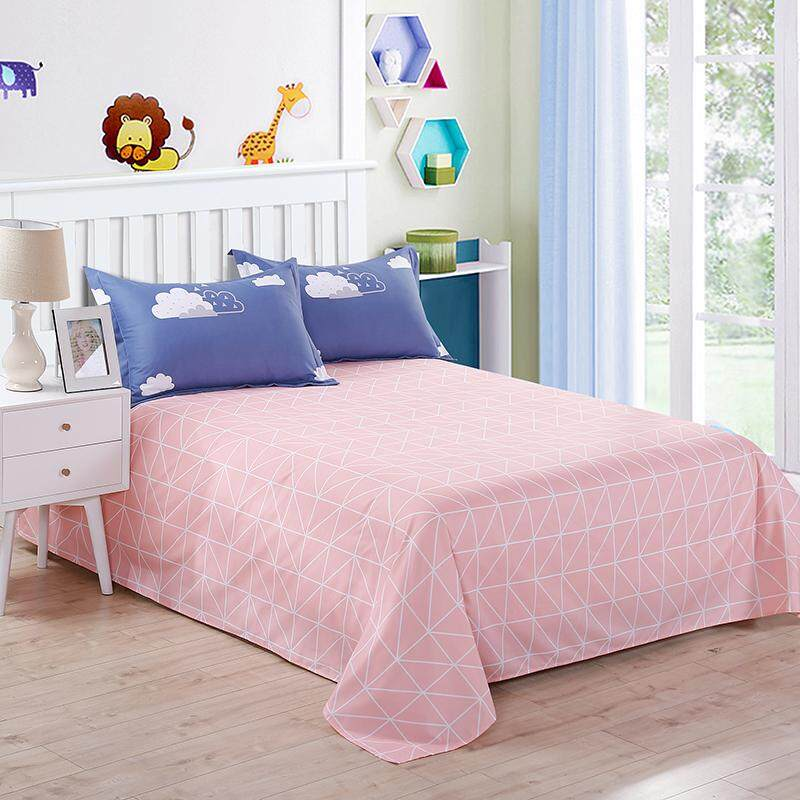 Shop For Wantai Sanding Cotton Bed Sheet Bedspreads Fits For Full King Bed Size Intl