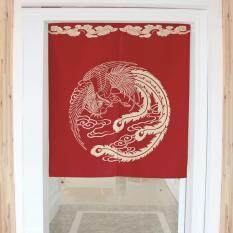 Washable Cotton Linen Kitchen Curtain Bedroom Door Curtain Durable Door Valance Half Curtain Door Screens Gifts 80x90CM