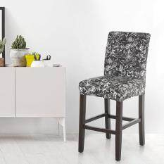 Washable Dining Chair Cover Elastic Spandex Chair Cover Nice Printing Home Ceremony Wedding Banquet Decorations Removable Chair Seat Covers Events Supplies Party Decoration