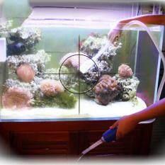 Water Suction Pump Pipe Aquarium Siphon Aspirator Fish Tank Cleaner Supplies