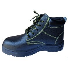 Welwolf Mid-Cut Leather Safety Shoes, Size : Eu43 (uk:9) By Spiro Spot.