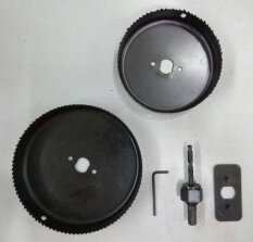 Wessley Hole Saw - Downlight Installation Kit [ Geolaser ] By Geolaser.