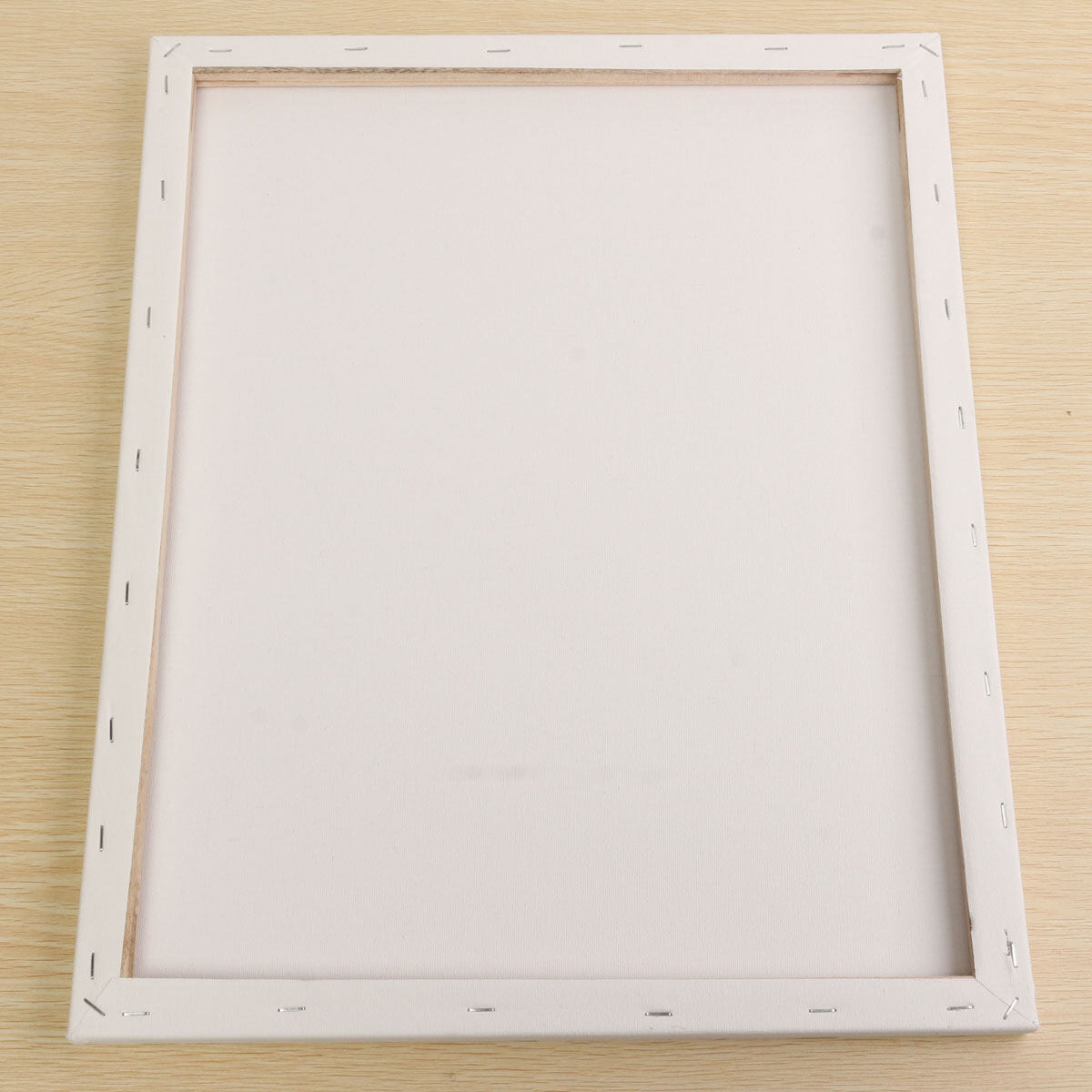 Mua White Blank Square Canvas Board Wooden Frame For Art Artist Oil Acrylic Paints 40x50cm - intl