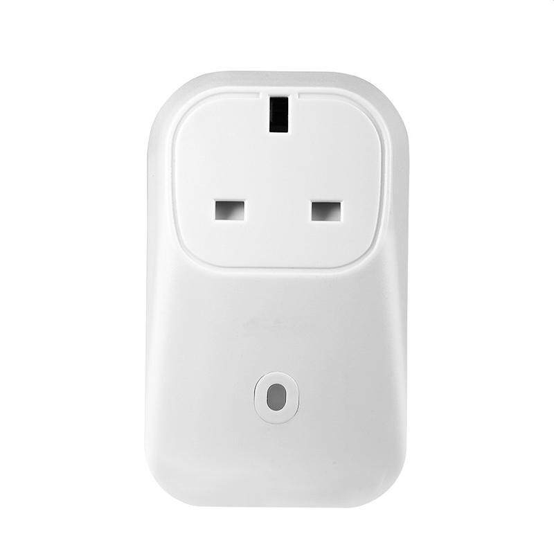 White Remote Control Timer Switch WiFi Smart Outlet Power Socket