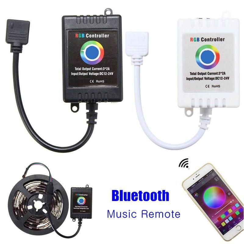 Hình ảnh Wireless Bluetooth Music Remote Smartphone App Controller For 5050 RGB LED Strip - intl