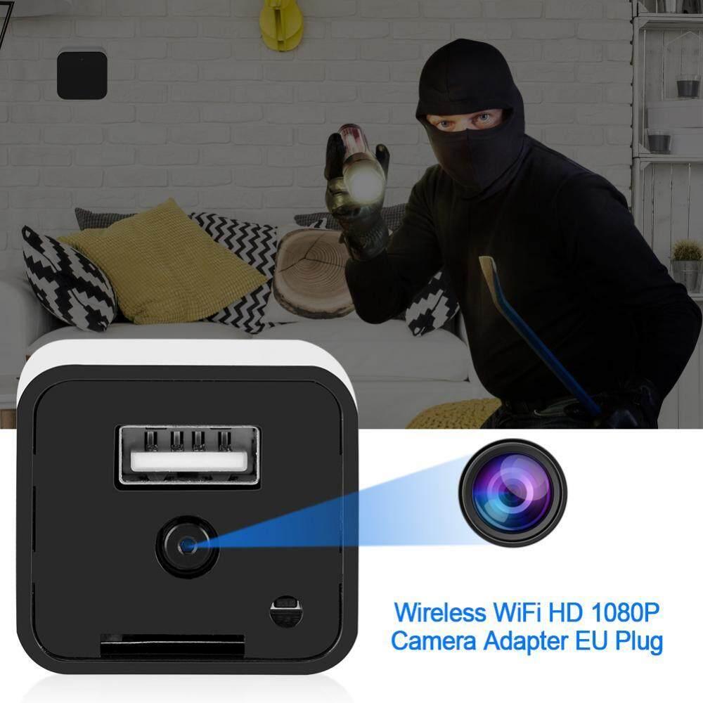 Camera an ninh, camera quay lén dạng cốc sạc HD 1080P (Đen)