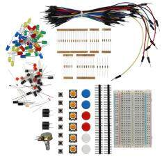 WOND Electronic Starter Kit Resistor Buzzer Breadboard LED Cable Electronic Fans multicolor
