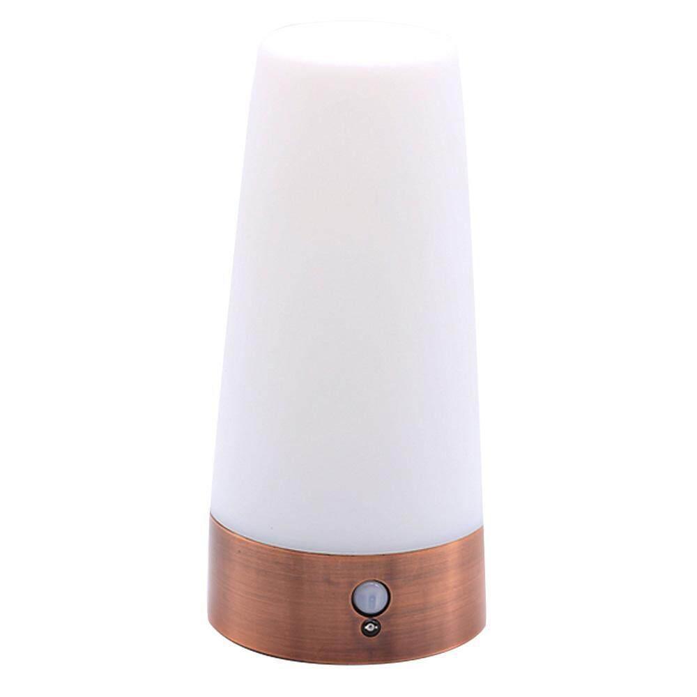 xaqiwe Body Light Control Night Light Warm Yellow Light, PS + ABS, Night Light European Style Bar Lights - intl