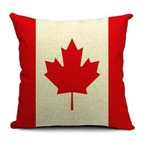Yfine Old World Retro Country Rustic Style Cotton Linen Home Decorative Throw Pillow Cover Cushion Case British Union Jack Flag 18 X18 45 Cm X 45 Cm By Yfine Intl Best Price