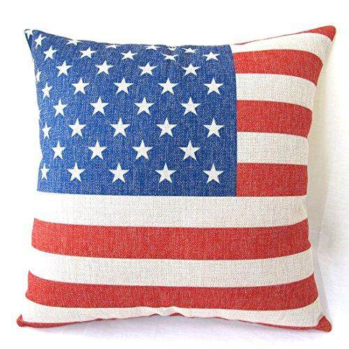 Yfine Old World Retro Country Rustic Style Cotton Linen Home Decorative Throw Pillow Cover Cushion Case British Union Jack Flag 18 X18 45 Cm X 45 Cm By Yfine Intl For Sale Online
