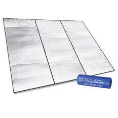 (HOT SALE) Dampproof Mat Picnic Hiking Outdoor Pad Multiply Side Aluminum Film 300X300 cm
